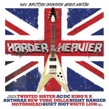 Various Artists - Harder & Heavier - '60s British Invasion Goes Metal