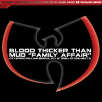 "The RZA - Blood Thicker Than Mud ""Family Affair"" - Single"