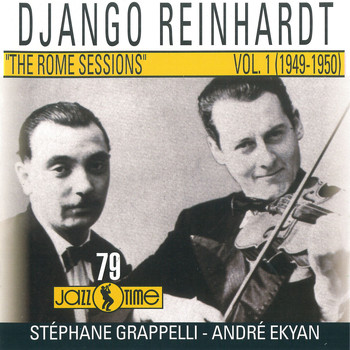 Django Reinhardt - The Rome Sessions (Vol 1 - 1949/ 1950)