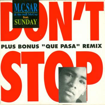 Mc Sar & The Real McCoy featuring Sunday - Don't Stop