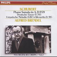 Alfred Brendel - Schubert: Piano Sonata in A, D.959/No.20; Hungarian Melody; 16 German Dances etc. (CD 2 of 7)