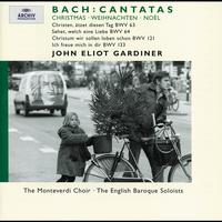 John Eliot Gardiner / English Baroque Soloists / Ann Monoyios / Rufus Muller / Derek Lee Ragin / Sara Mingardo / Katherine Fuge / Julian Podger / The Monteverdi Choir / Stephan Loges - Bach, J.S.: Christmas Cantatas BWV 63, 64, 121 & 133