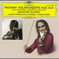 Charles Dutoit / London Philharmonic Orchestra / Salvatore Accardo - Paganini: Violin Concertos Nos. 3 & 4