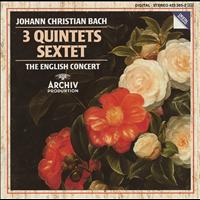The English Concert / Trevor Pinnock - J. Chr. Bach: Quintet Op.22 No.1; Quintet Op.11 Nos. 1 & 6; Sextet Without Op. No.