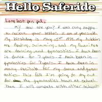 Hello Saferide - Long Last Penpal, EP