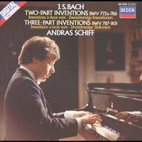 András Schiff - Bach, J.S.: Two and Three Part Inventions