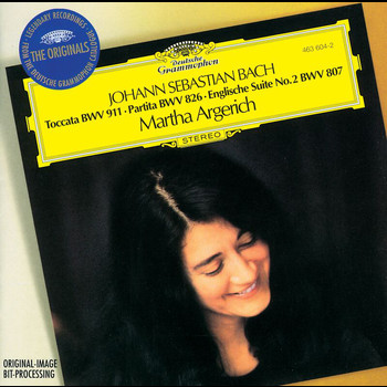 Martha Argerich - Bach, J.S.: Toccata BWV 911; Partita No.2; English Suite No.2