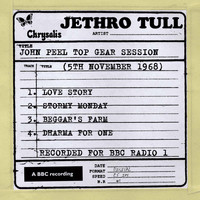 Jethro Tull - John Peel - Top Gear Session (11/5/1968)