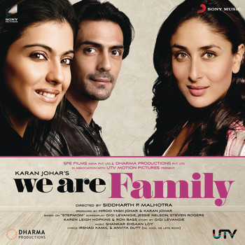 Shankar Ehsaan Loy - We Are Family (Original Motion Picture Soundtrack)
