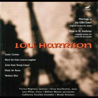 Lou Harrison - Harrison: Mass To St. Anthony; Marriage At The Eiffel Tower; Arias From 'young Ceasar'; Music For Remy