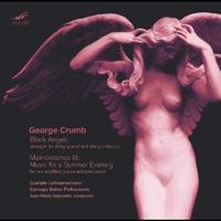 GEORGE CRUMB - George Crumb: Black Angels; Makrokosmos Iii: Music For A Summer Evening