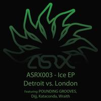 Pounding Grooves - Ice EP:  Detroit vs. London