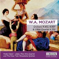 Fine Arts Quartet - Mozart Quintet And Quartet