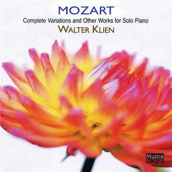 Walter Klien - Mozart: Complete Variations And Other Works For Solo Piano