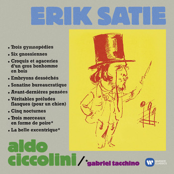 Aldo Ciccolini - Satie: Gymnopedies