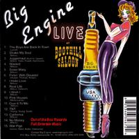 Big Engine - Live At The Boothill Saloon
