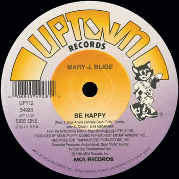 Mary J. Blige - Be Happy (Remixes)