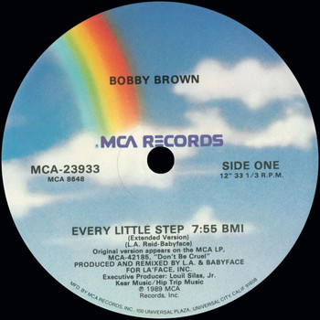 Bobby Brown - Every Little Step (Remixes)
