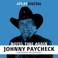 Johnny Paycheck - Motel Time Again. - 4 Track EP