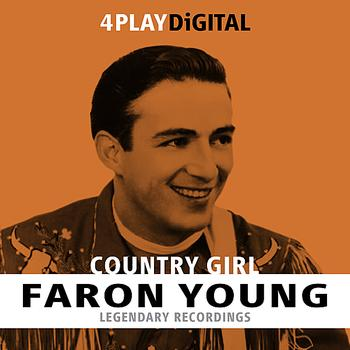 Faron Young - Country Girl - 4 Track EP