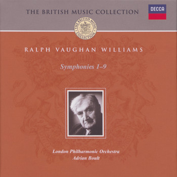 Sir Adrian Boult / London Philharmonic Orchestra - Vaughan Williams: Complete Symphonies (5 CDs)