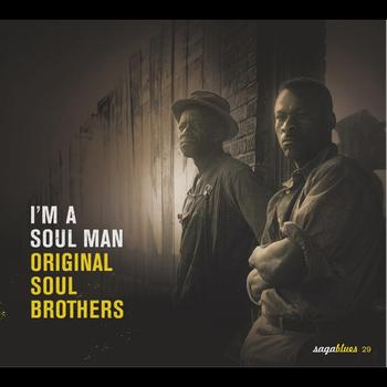 "Various Artists - Saga Blues: I'm a Soul Man ""Original Soul Brothers"""
