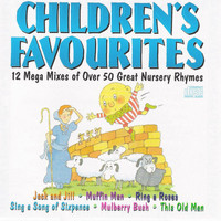 Kid's Players - Children's Favourites - 12 Mega Mixes Of Over 50 Great Nursery Rhymes
