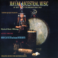 Xavier Quijas Yxayotl - Mayan Ancestral Music - Healing Music for Mother Earth