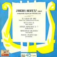 Jascha Heifetz - Vintage World No. 156 - EP: Violín And Piano