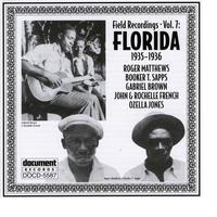 Various Artists - Document Records - Field Recordings, Vol. 7: Florida (1935-1936)