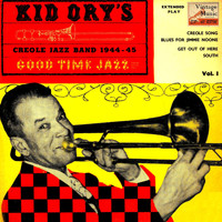 "Kid Ory's Creole Jazz Band - Vintage Belle Epoque Nº 23 - EPs Collectors, ""Good Time Jazz Vol-1"""
