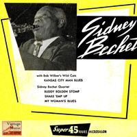 "Sidney Bechet - Vintage Jazz Nº 63 - EPs Collectors, ""Kansas City Man Blues"""