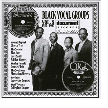 Various Artists - Document Records - Black Vocal Groups Vol. 8 (1926-1935)
