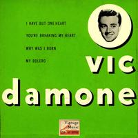 "Vic Damone - Vintage Vocal Jazz / Swing Nº 47 - EPs Collectors, ""You're Breaking My Heart"""