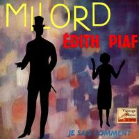 "Edith Piaf - Vintage French Song Nº 69 - EPs Collectors, ""Milord"""
