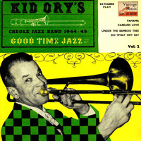 "Kid Ory's Creole Jazz Band - Vintage Belle Epoque Nº 24 - EPs Collectors, ""Good Time Jazz Vol-2"""