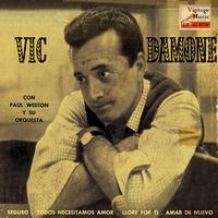 "Vic Damone - Vintage Vocal Jazz / Swing Nº 44 - EPs Collectors, ""Sure"""
