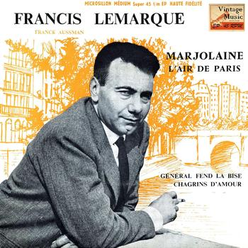"Francis Lemarque - Vintage French Song Nº 94 - EPs Collectors, ""Marjolaine"""