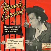 Manolo Caracol - Vintage Flamenco Cante Nº39 - EPs Collectors
