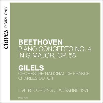 Emil Gilels - Beethoven: Piano Concerto No. 4 in G Major, Op. 58 (Live in Lausanne, 1978)