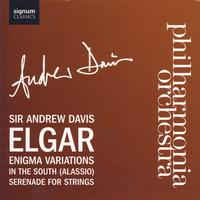 Philharmonia Orchestra with Sir Andrew Davis - Enigma Variations, In the South, Serenade For Strings