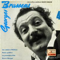 "Georges Brassens - Vintage French Song Nº20 - EPs Collectors ""Bancs Publics"""