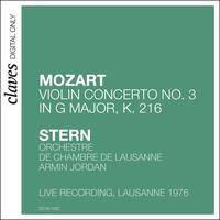Isaac Stern - W.A. Mozart: Violin Concerto No.3 in G Major, K. 216 (Live recording, Lausanne 1976)