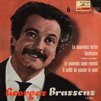 "Georges Brassens - Vintage French Song Nº23 - EPs Collectors ""La Mauvaise Herbe"""