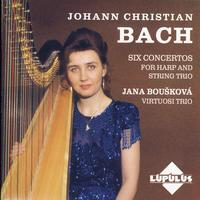 Johann Christian Bach - Six Concertos For Haro And String Trio