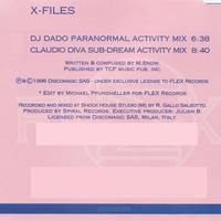 DJ Dado - X Files - Single