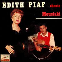 "Edith Piaf - Vintage French Song Nº15 - EPs Collectors ""Sing Georges Moustaki"""