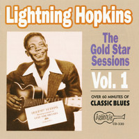 Lightning Hopkins - The Gold Star Sessions - Vol 1