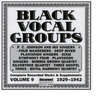 Various Artists - Document Records - Black Vocal Groups Vol. 9 (1929-1942)