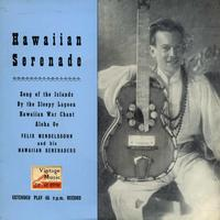 "Felix Mendelssohn - Vintage World Nº3- EPs Collectors ""Hawaiian Serenade"""